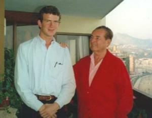 Koen Dillen avec Léon Degrelle. Qui se ressemble…
