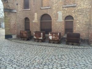 Wagons de coke, Grand-Hornu.