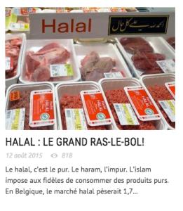 Violente islamophobie dans le journal Le Peuple (du Parti Populaire).